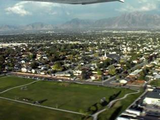 Approaching south Valley Regional Airport